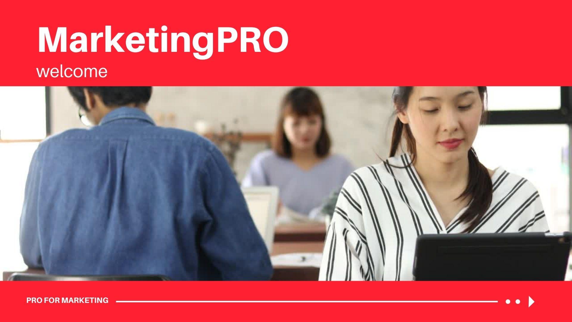 Marketing PRO 1